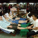 Massage des pieds à Bangkok