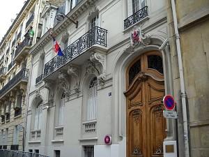 Ambassade Royale de Thailande à Paris