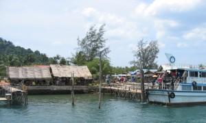 Port de Ban Saladan à Koh Lanta