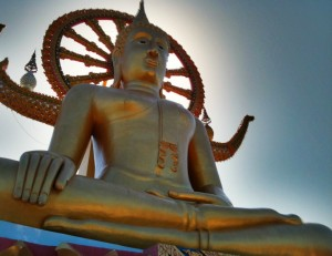 Big Bouddha du temple Wat Phra Yai