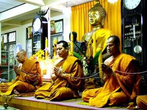 Cérémonie de mariage thaï