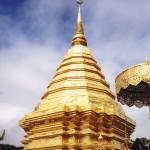 Chedi du temple Wat Phrathat Doi Suthep