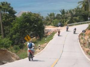 La conduite en moto à Koh Phangan