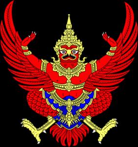 Garuda, le blason de la Thaïlande