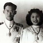 Le Roi Rama IX et la Reine Sirikit
