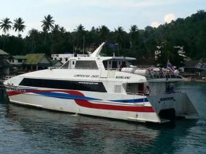 Catamaran Lomprayah à Koh Phangan
