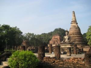 Parc historique de Sukhothai - Wat Prasri Ratana Mahatat