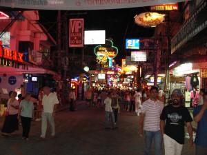 Vie nocturne à Pattaya