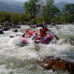 Rafting en Thailande