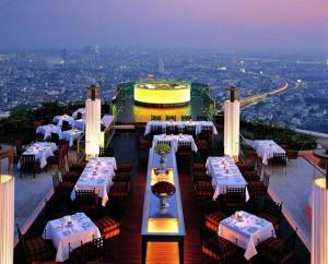 Restaurant Sirocco à Bangkok