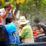 Festival de Songkran à Chiang Mai