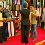 Tailleur de costume en Thailande