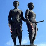 Thao Thep Kasattri (Kunying Jan) et Thao Sri Sunthon (Mook)