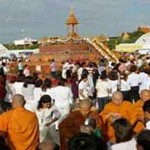 Célébration du Visakha Puja à Sanam Luang