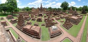 Wat Mahathat dans le Parc Historique de Sukhothaï