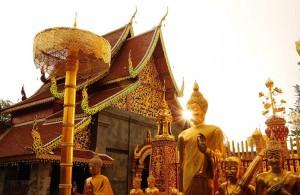 Wat Phrathat Doi Suthep à Chiang Maï