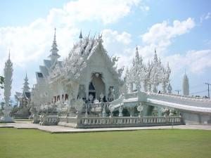 Temple de Wat Rong Khun à Chiang Rai