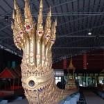 Barge Anantanakharaj au Musée des barges royales