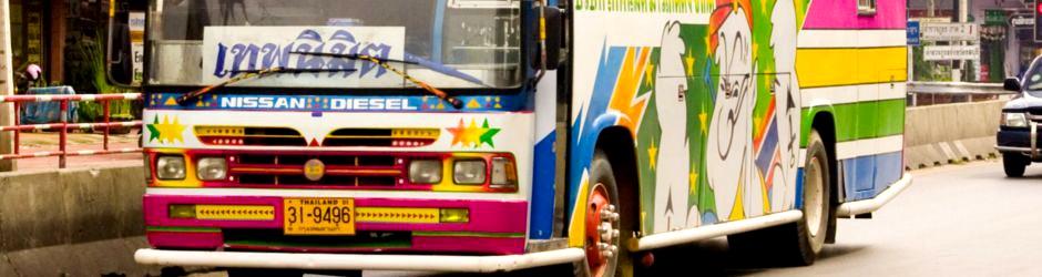 Bus à Chonburi
