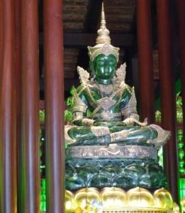 Bouddha d'Emeraude