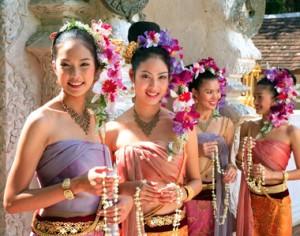 Femmes thailandaises de Chiang Mai