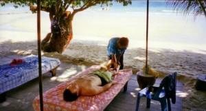 Massage sur la plage à Koh Samet