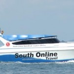 Speedboat de la compagnie South Online