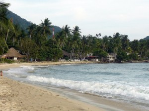 Plage de Lonely Beach à Koh Chang