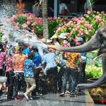 Festival de Songkran à Pattaya