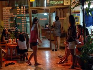 Salon de massage sur la rue Loi Kroh