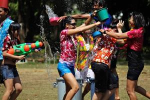 Festival de Songkran à Phuket