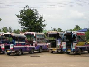 Songteo à Sukhothai