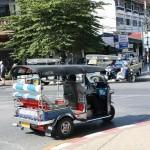 Tuk Tuk à Sukhothai