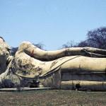 Le Bouddha couché à Ayutthaya