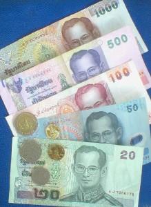 Baht (THB) - Monnaie en Thailande