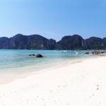 Plage de sable fin à Koh Phi Phi