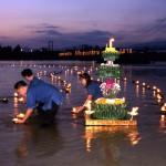 Célébration du Loy Krathong