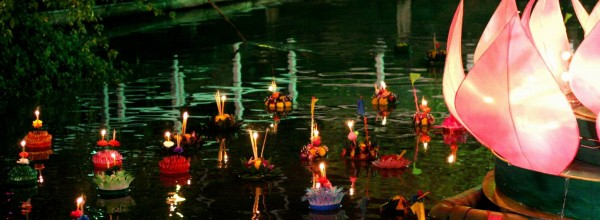 La fête du Loy Krathong en Thaïlande