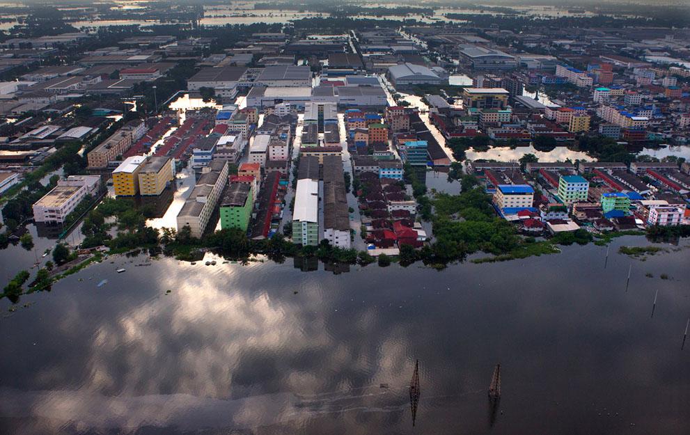 Inondation de Bangkok