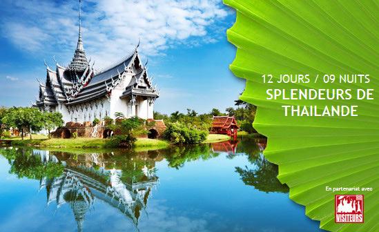 Jeu concours pour gagner un voyage en Thailande