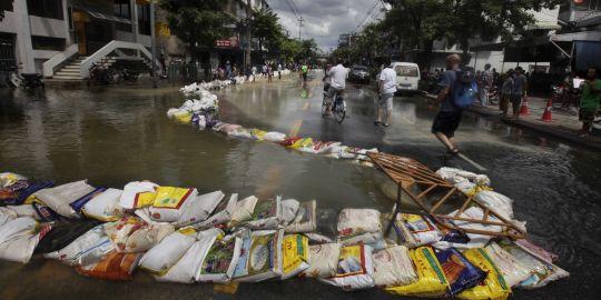 Cette saison de mousson est particulièrement abondante en Thaïlande