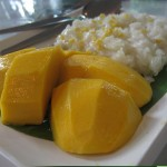Mangue et riz collant