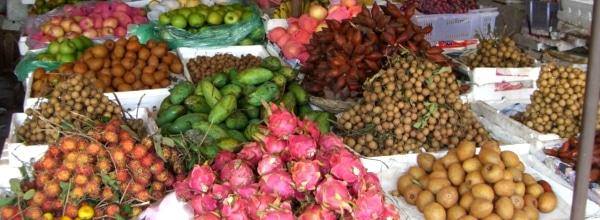 Tous les fruits thaïlandais