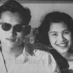 Bhumibol Adulyadej et Sirikit Kitiyakara dans leur jeunesse