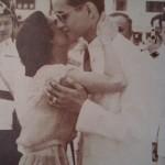 Le Roi Rama IX et la Reine Sirikit Jeune lorsqu'ils étaient jeunes
