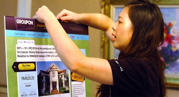 Lancement de Groupon en Thaïlande