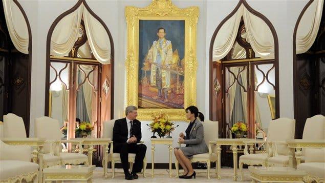 Le Canada et la Thaïlande discutent libre-échange