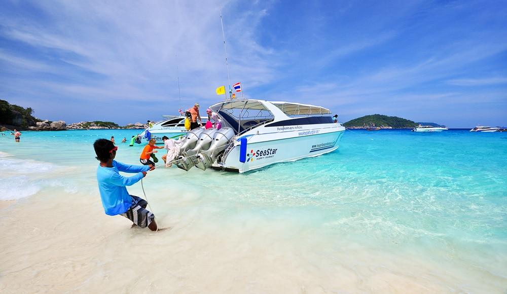 Excursion sur les îles Similan