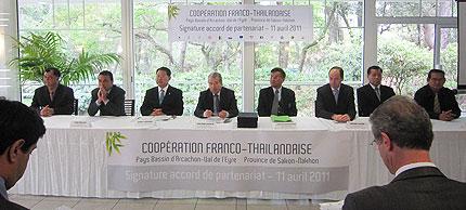 Coopération Franco-Thaïlandaise entre le Bassin d'Arcachon et Sakon Nakhon