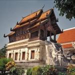Ho trai du temple Wat Phra Singh à Chiang Mai